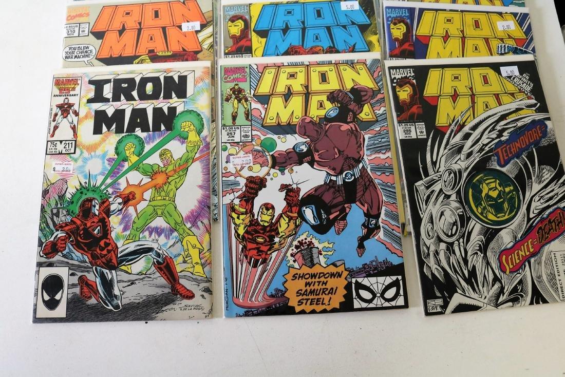 Lot of 30 Iron Man comics - 8