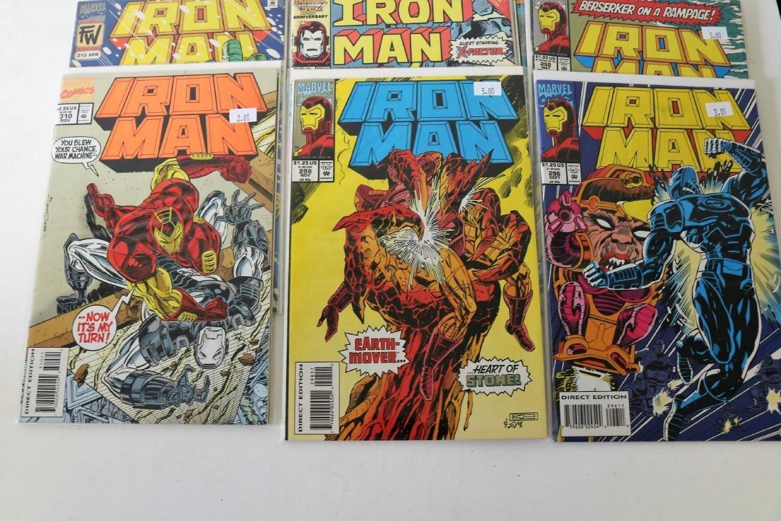 Lot of 30 Iron Man comics - 9