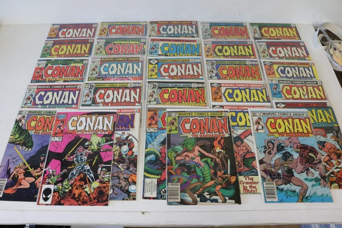 Lot of 28 Conan Marvel comics