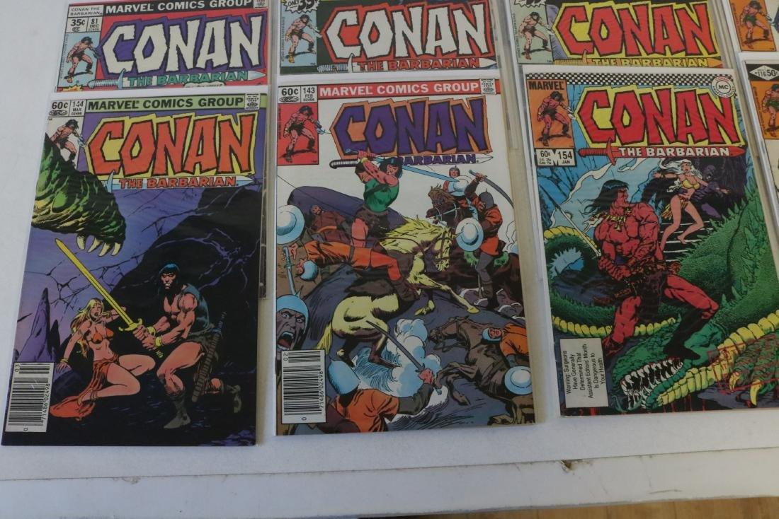Lot of 28 Conan Marvel comics - 2