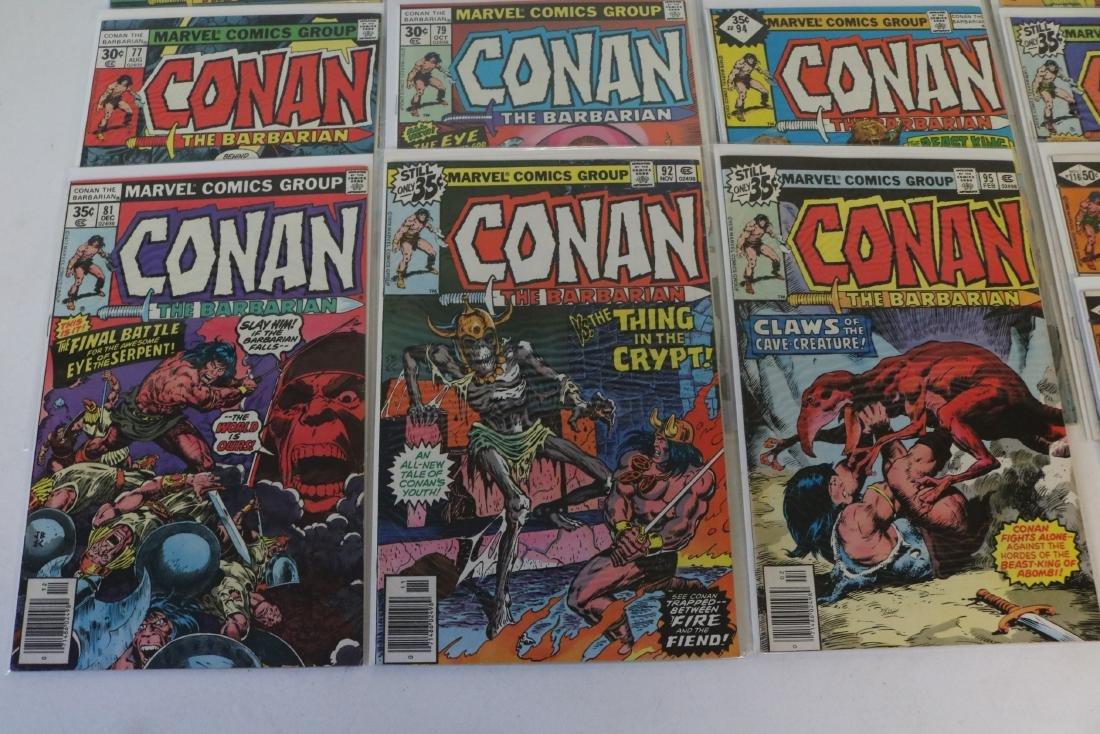 Lot of 28 Conan Marvel comics - 3