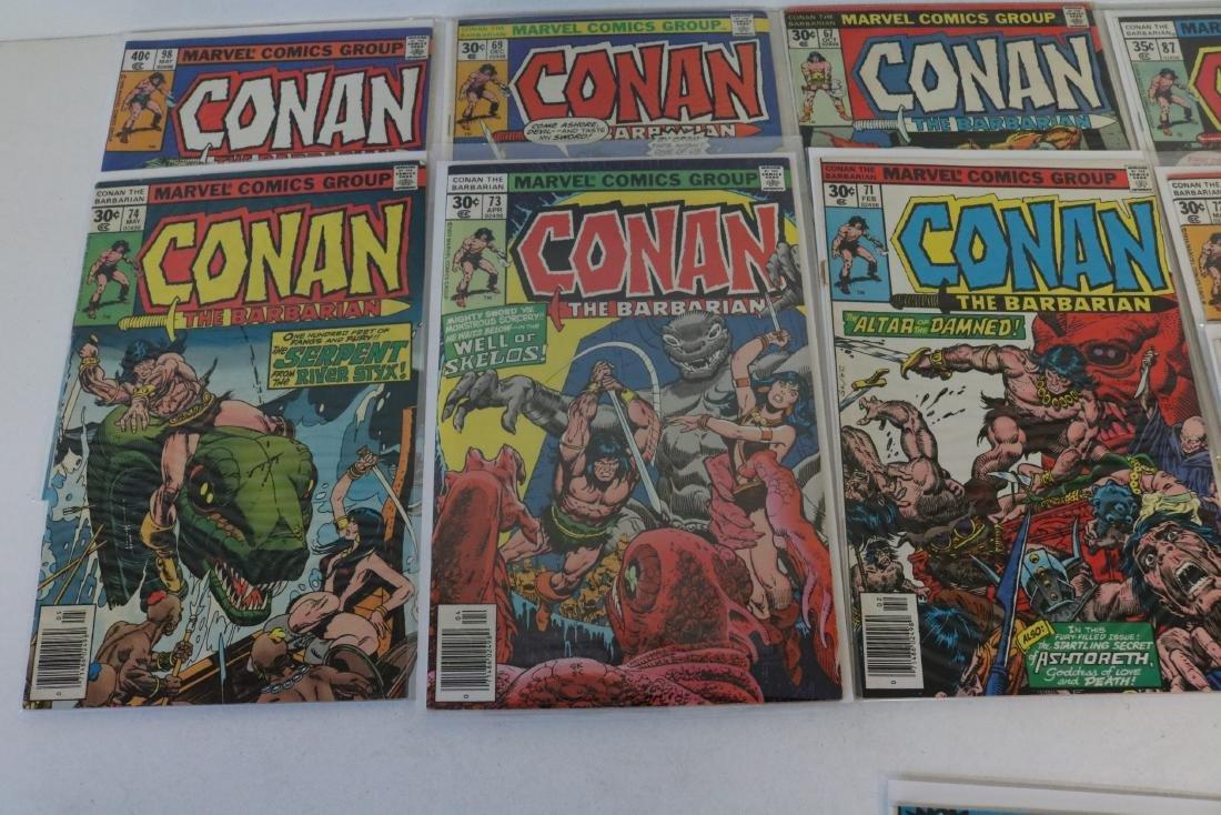 Lot of 28 Conan Marvel comics - 5