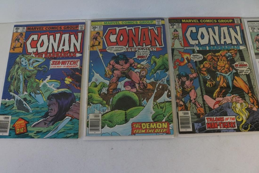 Lot of 28 Conan Marvel comics - 6