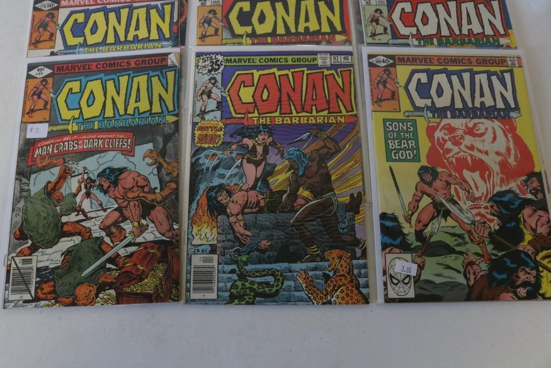 Lot of 28 Conan Marvel comics - 7