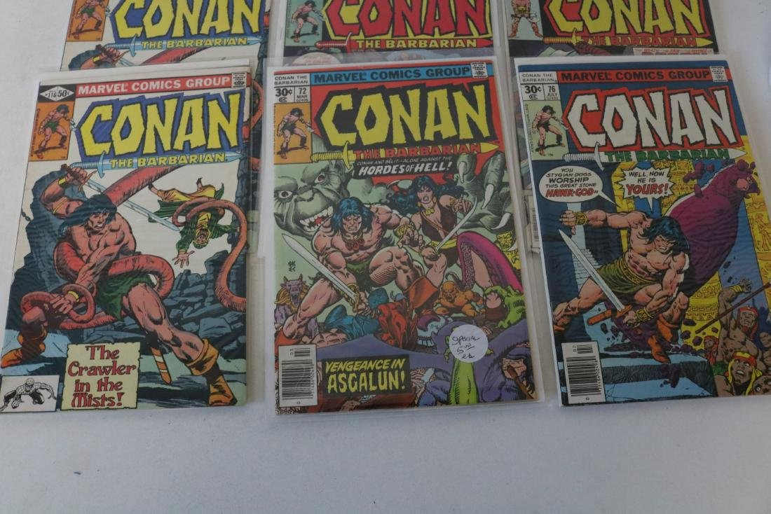 Lot of 28 Conan Marvel comics - 8