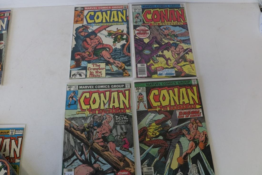 Lot of 28 Conan Marvel comics - 9