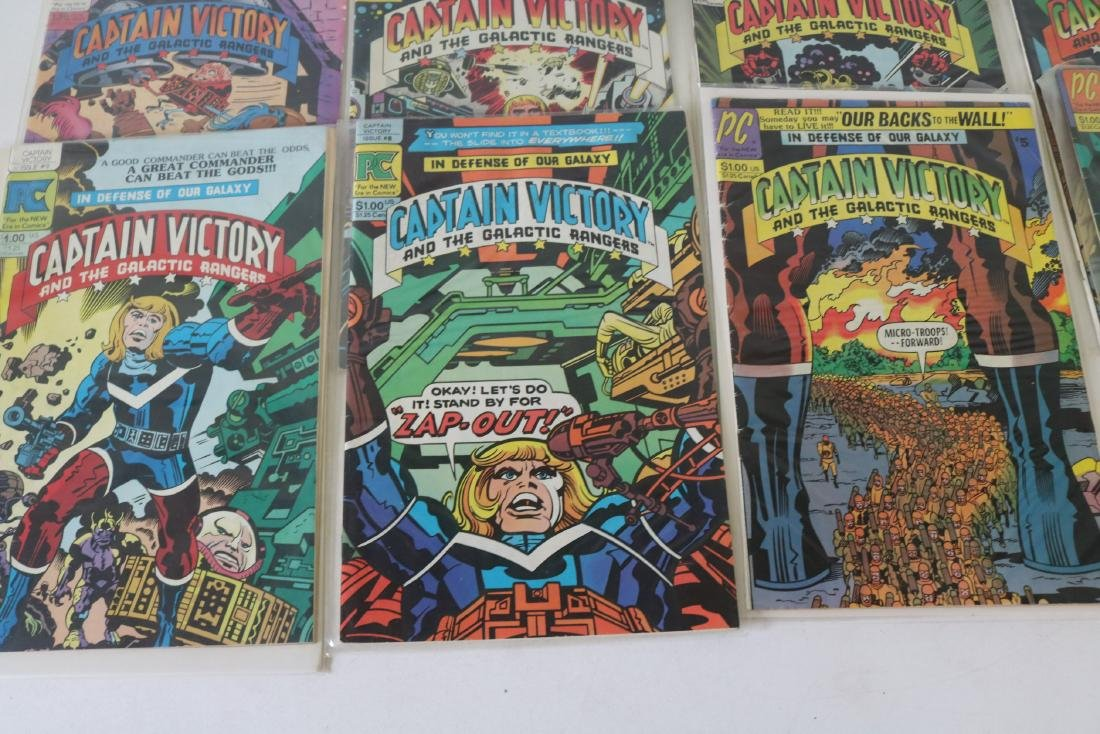 Lot of 14 comics #1-13 Captain Victory - 4