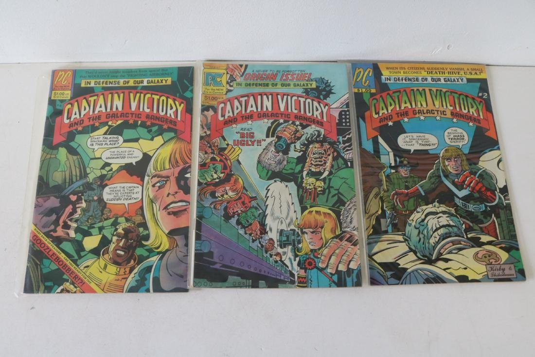 Lot of 14 comics #1-13 Captain Victory - 6