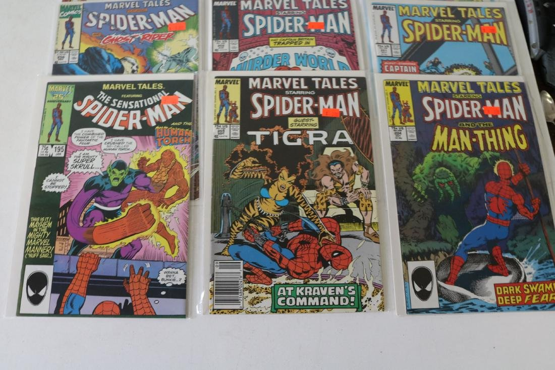 Lot of 31 Marvel Tales comics - 9