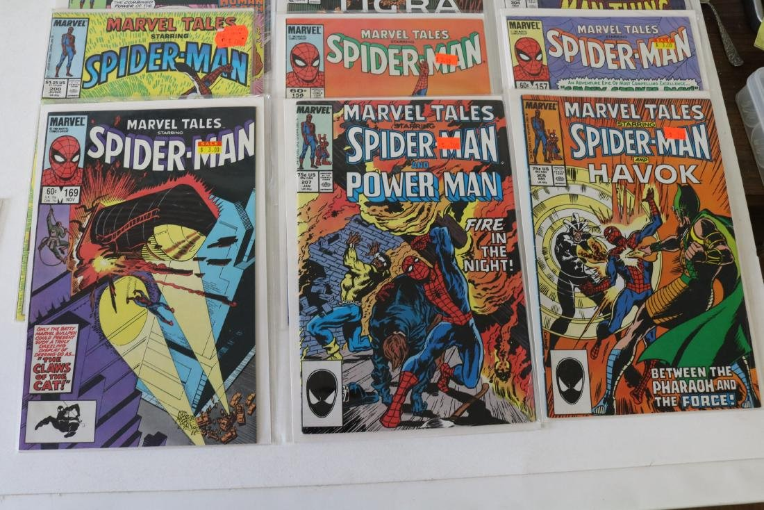 Lot of 31 Marvel Tales comics - 7
