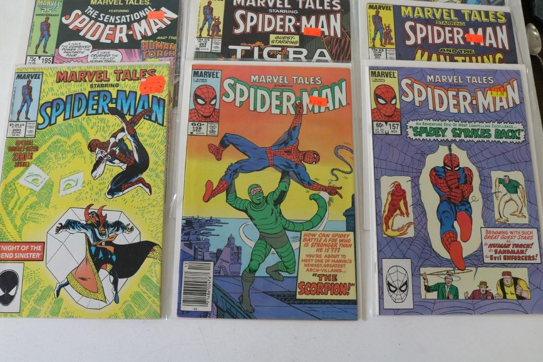 Lot of 31 Marvel Tales comics - 8