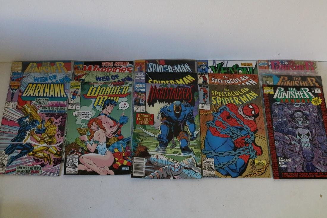 Lot of 50 Marvel Superhero comics - 10