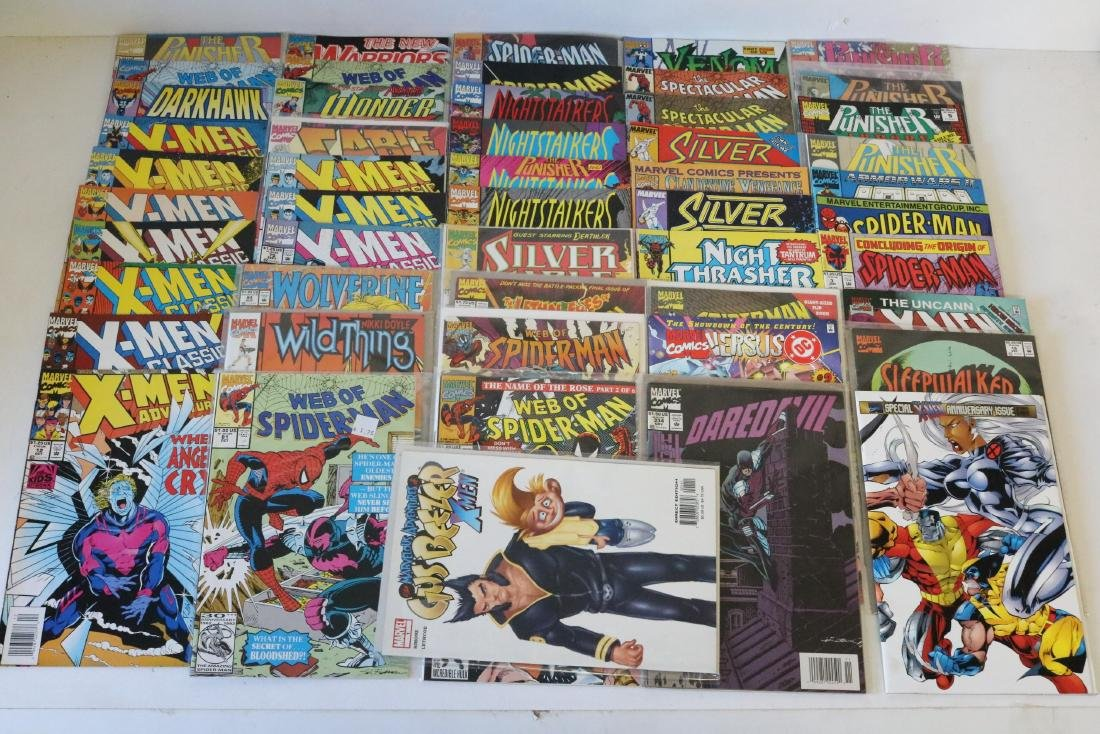 Lot of 50 Marvel Superhero comics