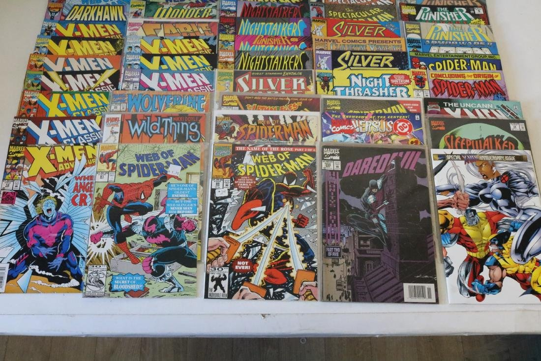 Lot of 50 Marvel Superhero comics - 3