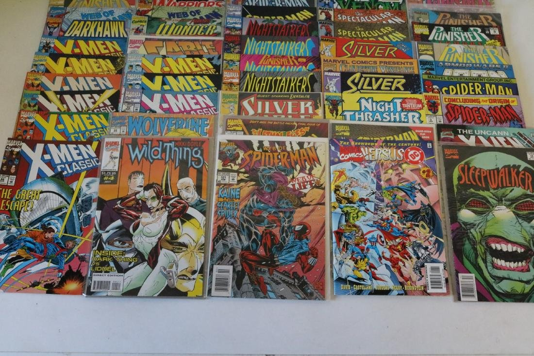 Lot of 50 Marvel Superhero comics - 4