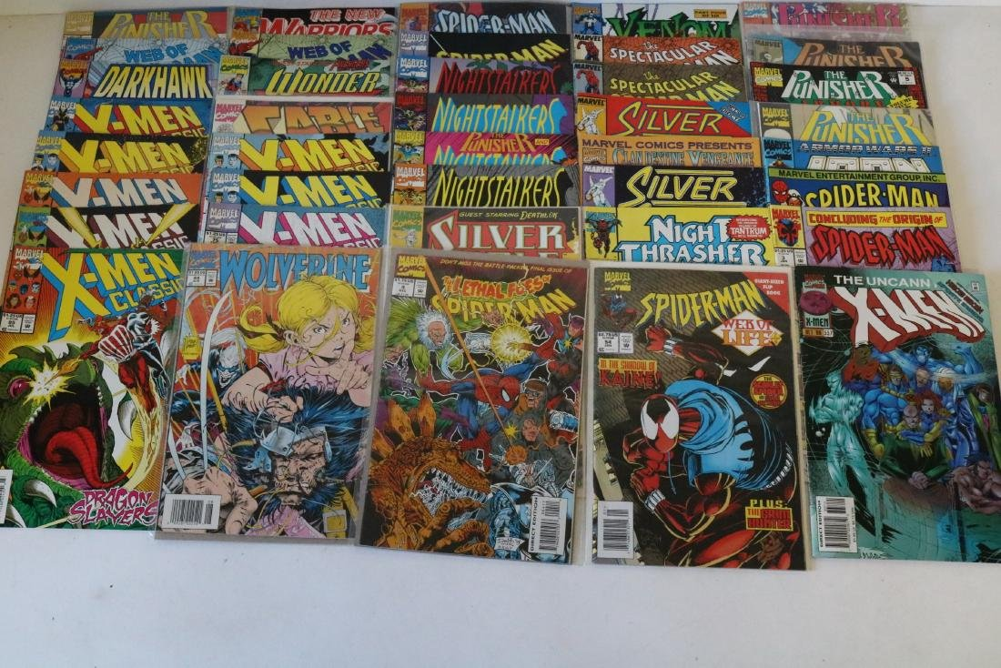 Lot of 50 Marvel Superhero comics - 5