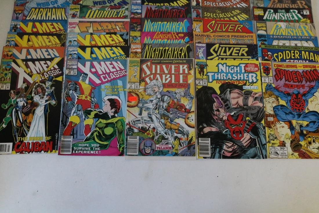 Lot of 50 Marvel Superhero comics - 6