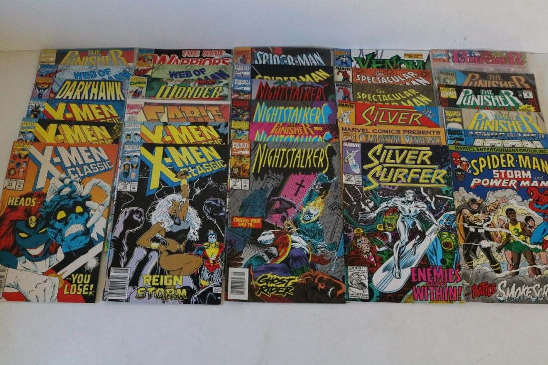 Lot of 50 Marvel Superhero comics - 7