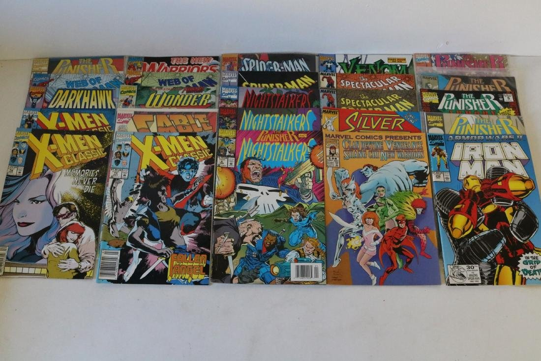 Lot of 50 Marvel Superhero comics - 8