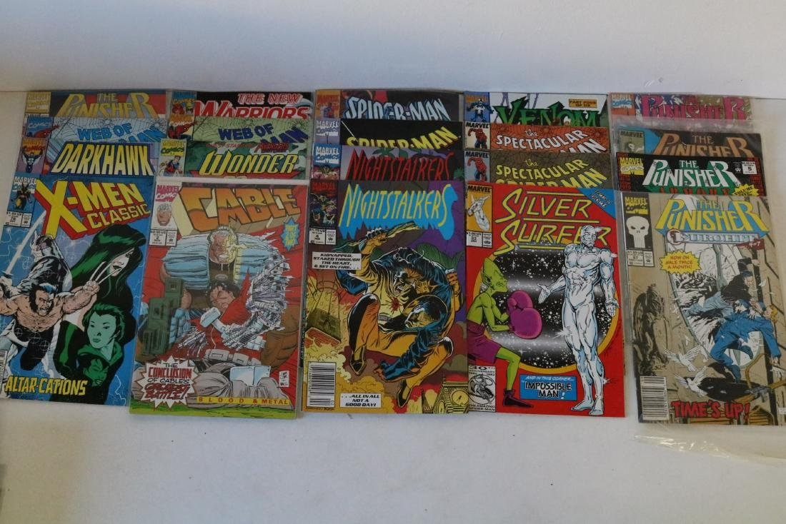 Lot of 50 Marvel Superhero comics - 9
