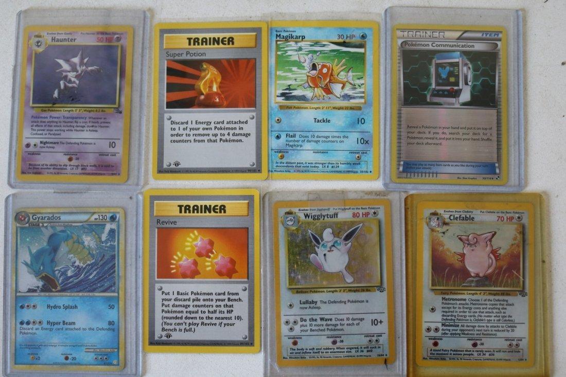 Lot of 20 Pokémon cards with Halo's - mewtoo