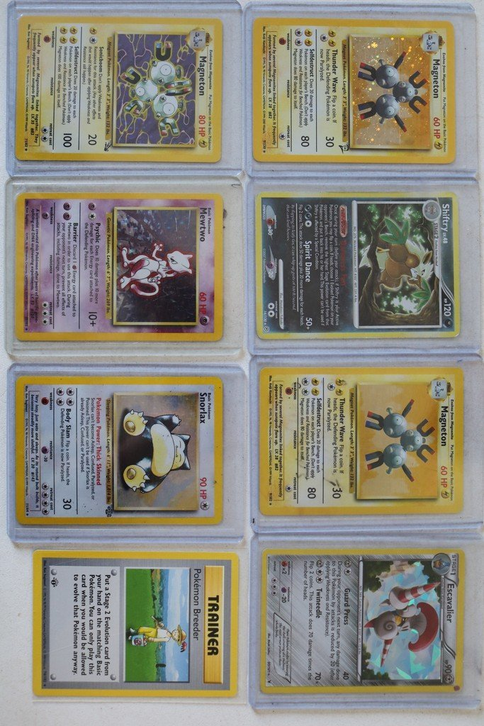 Lot of 20 Pokémon cards with Halo's - mewtoo - 2