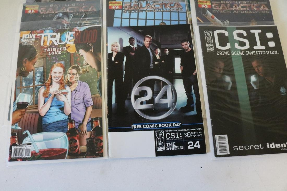 Lot of 14 Television themed comics - 3