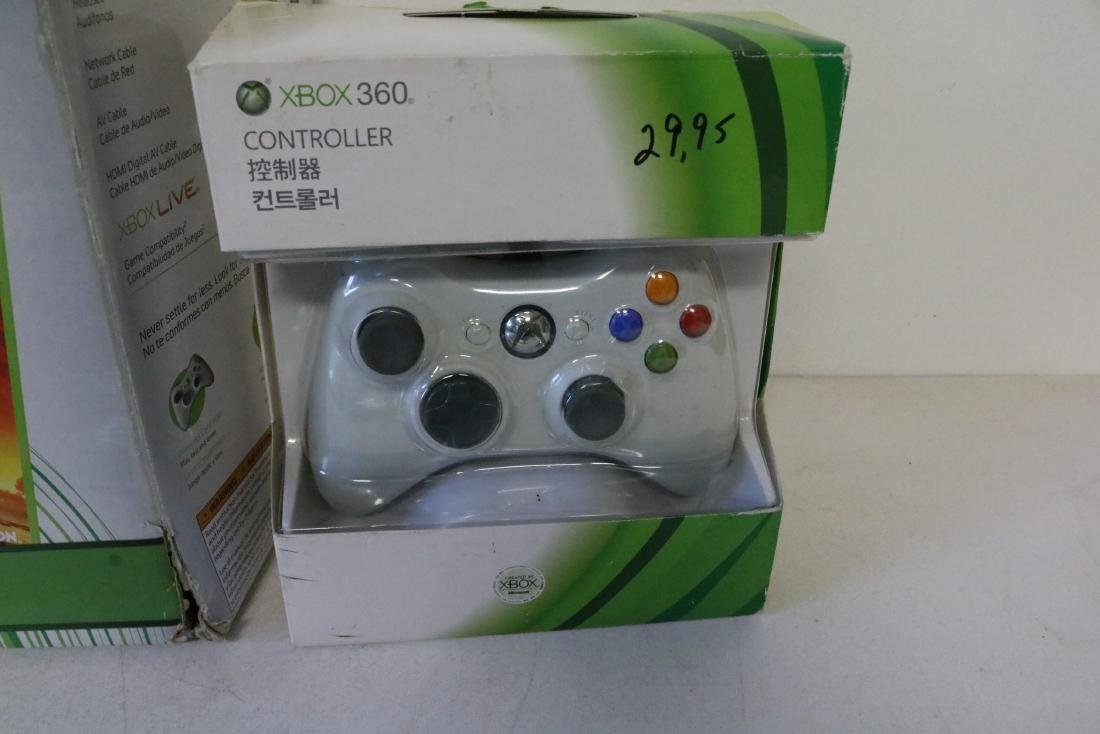 X-Box game system with games - 2