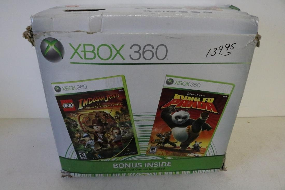 X-Box game system with games - 3