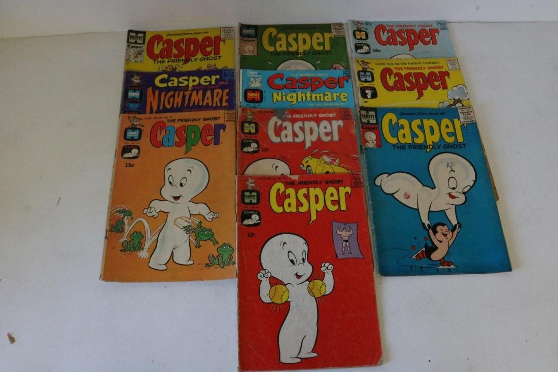 Great early Casper lot of 10 comics #22 and up