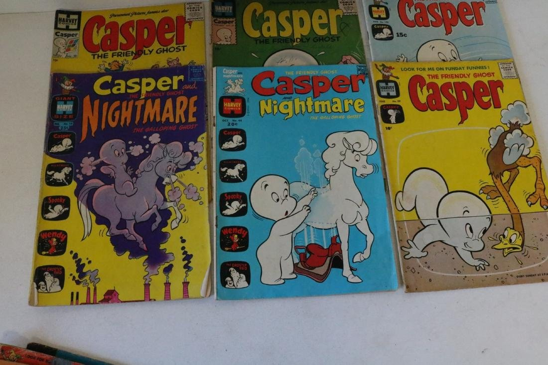 Great early Casper lot of 10 comics #22 and up - 3