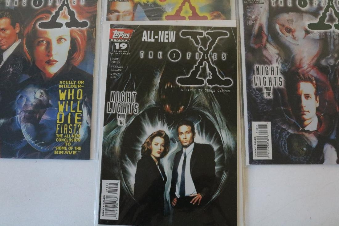 Great run of X-Files comics #1-19 - 2