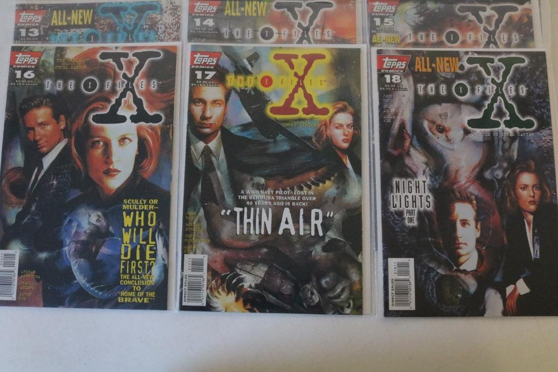 Great run of X-Files comics #1-19 - 3