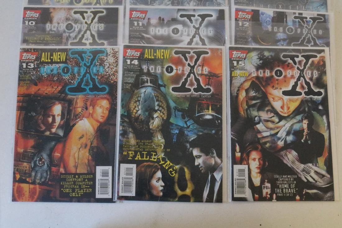 Great run of X-Files comics #1-19 - 4