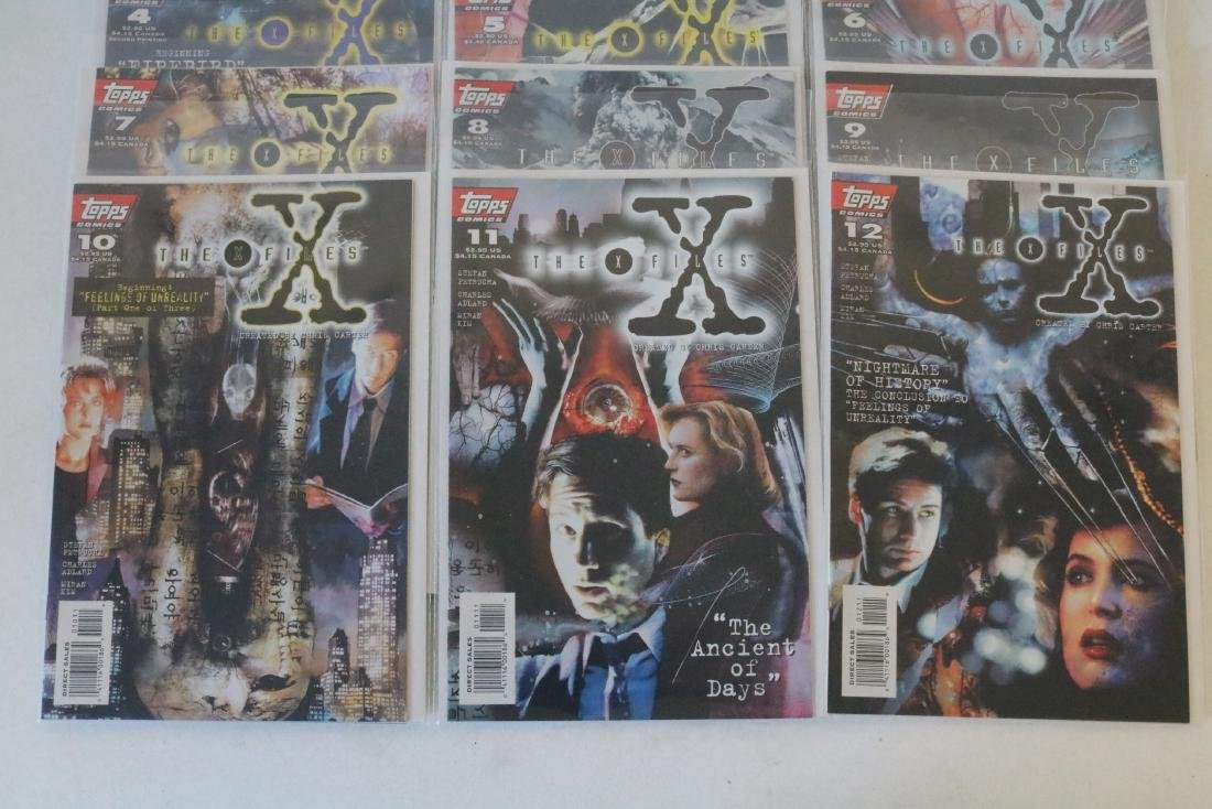 Great run of X-Files comics #1-19 - 5