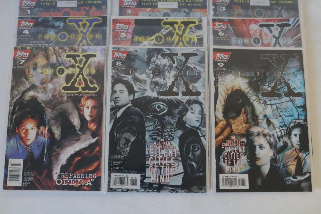 Great run of X-Files comics #1-19 - 6