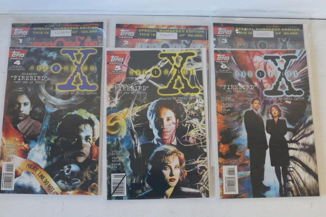 Great run of X-Files comics #1-19 - 7