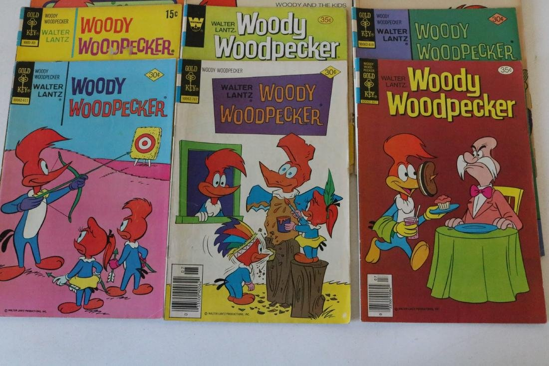 Lot of 22 Woody Woodpecker 1953 and up - 4