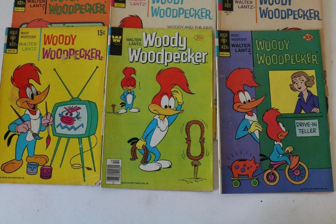 Lot of 22 Woody Woodpecker 1953 and up - 5