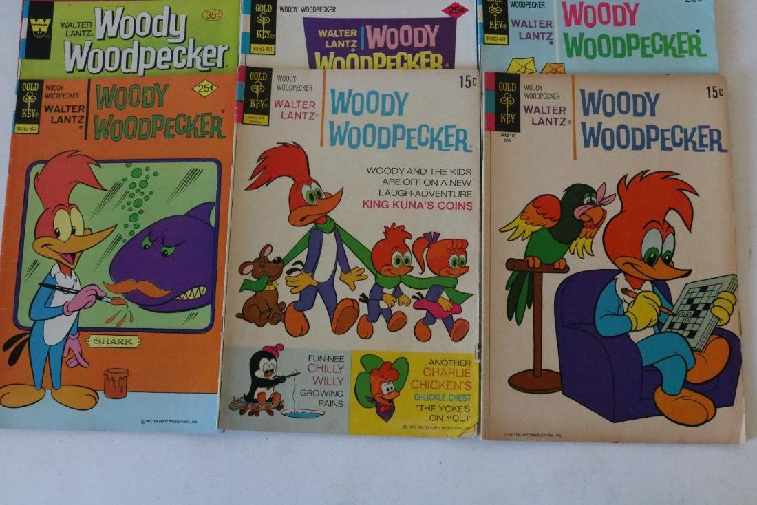 Lot of 22 Woody Woodpecker 1953 and up - 6