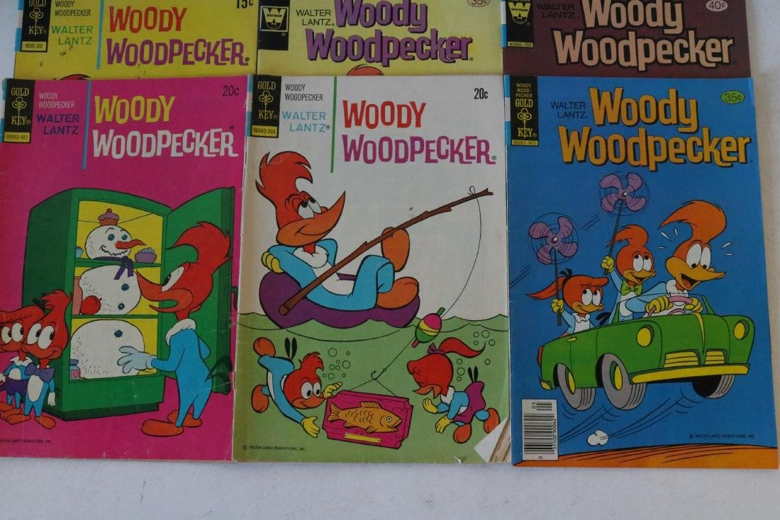 Lot of 22 Woody Woodpecker 1953 and up - 8