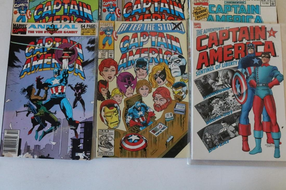 Lot of 24 Captain America comics - 2