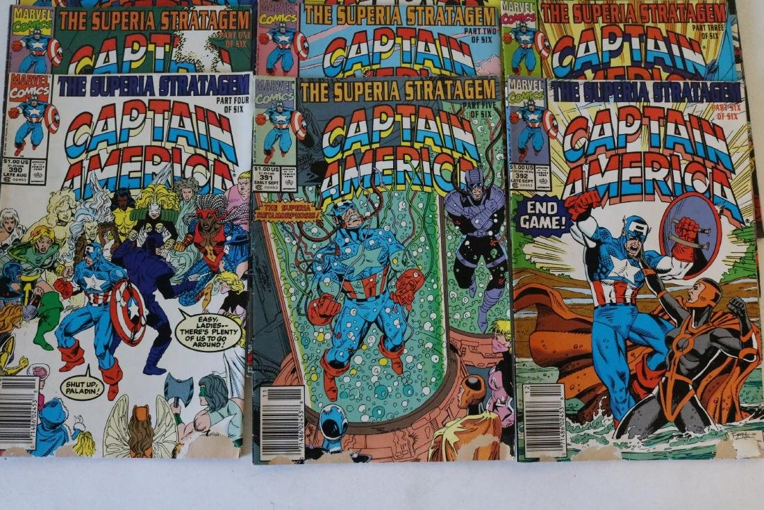 Lot of 24 Captain America comics - 4