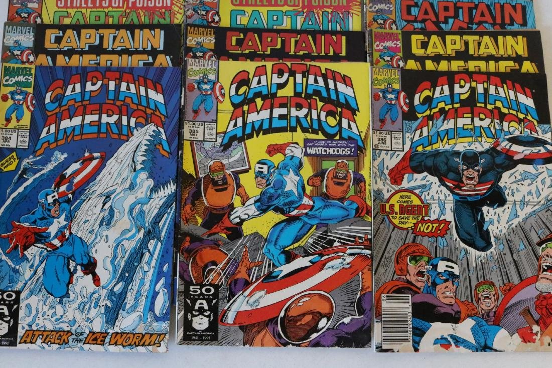 Lot of 24 Captain America comics - 6