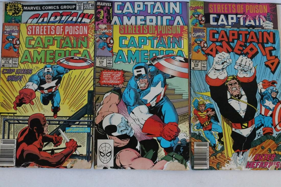 Lot of 24 Captain America comics - 8
