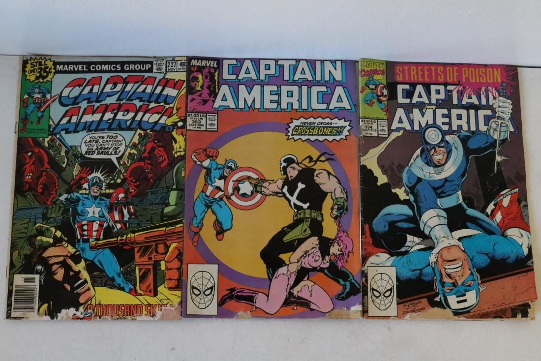 Lot of 24 Captain America comics - 9