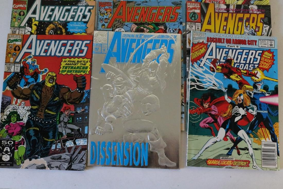 Avengers lot of 25 Marvel comics - 3