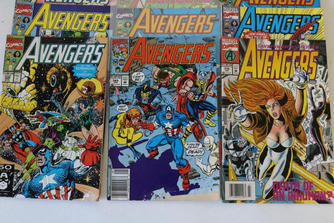 Avengers lot of 25 Marvel comics - 4