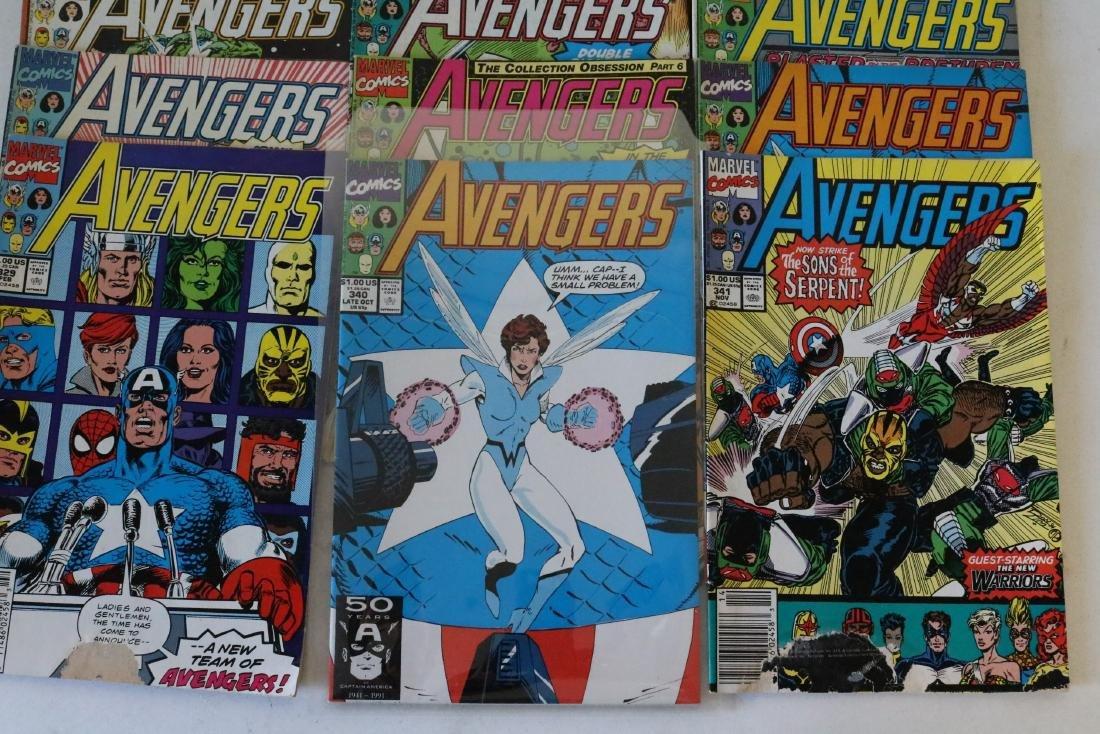 Avengers lot of 25 Marvel comics - 5