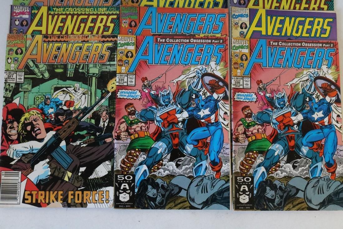 Avengers lot of 25 Marvel comics - 8